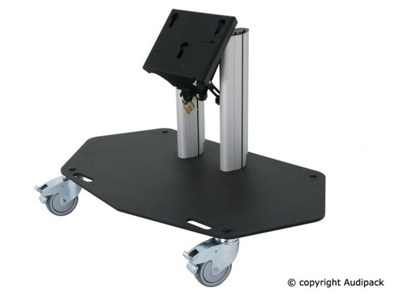 Bodenständer für niedrigen Vorschaumonitor mit Rollen - 700-Serie