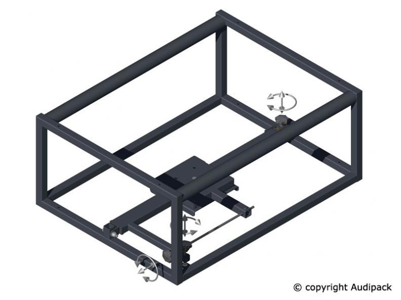 Audipack Stack Frame für Projektoren