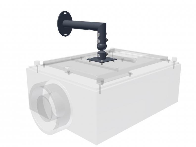 Audipack Projektor Wandhalterung