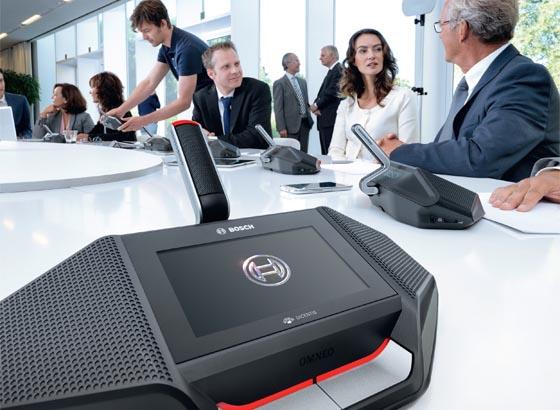 Bosch Dicentis Drahtloses Konferenzsystem