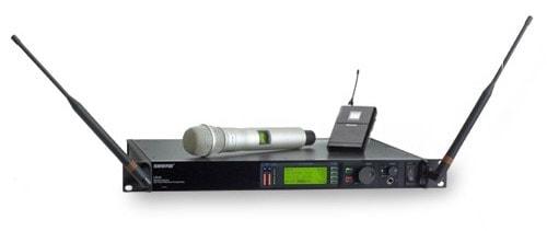 Shure Drahtlosmikrofon UHF-R Serie