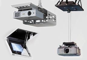 Halterungen für Projektoren und Beamer