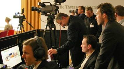Vermietung von Konferenztechnik: Mikrofone