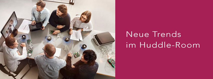 Sennheiser TeamConnect im Huddle-Room